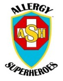 AllergySuperheroes Logo Thumbnail size