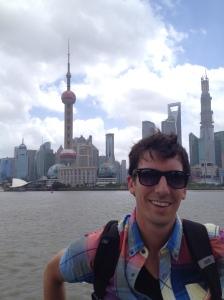 Kyle in Shanghai